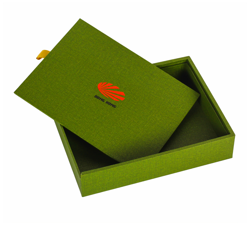 Paper Wrap MDF Drawer Sliding Boxes