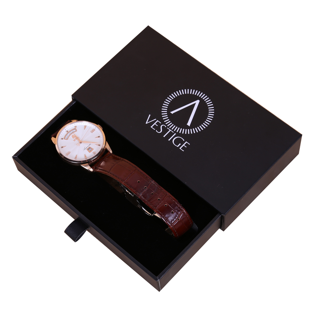 Rigid box watch box packaging box gift box different structures watch packaging box dhp factory for Watches box