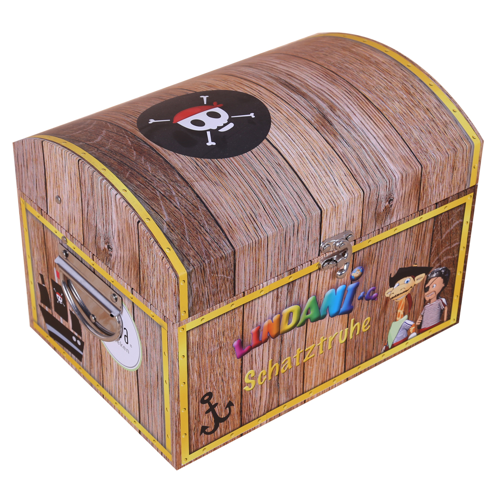 Special Treasure Chest Style Gift Box ...  sc 1 st  DHP Factory & treasure chest boxrigid boxgift boxspecial boxSpecial Treasure ...